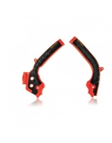 Acerbis Rahmenprotektor X-GRIP KTM / Husqvarna Orange-Schwarz
