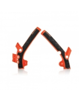 Acerbis Rahmenprotektor X-GRIP KTM / Husqvarna orange16-schwarz