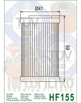 Hiflo Ölfilter KTM Filter lang HF 155