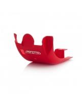Acerbis Motorschutzplatte  Honda 450 rot