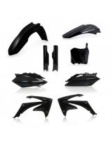 Acerbis Plastik Full Kit Honda schwarz / 6-teilig CRF250 10 + CRF450 09-10