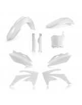 Acerbis Plastik Full Kit Honda weiß / 6-teilig CRF250 10 + CRF450 09-10