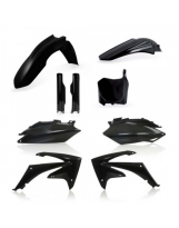 Acerbis Plastik Full Kit Honda schwarz / 6-teilig CRF250 11-13 + CRF450 11-12