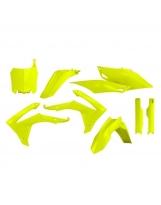 Acerbis Plastik Full Kit Honda gelb-fluo / 6-teilig CRF 250 14-17 + CRF450 13-16