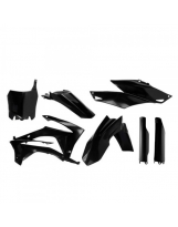 Acerbis Plastik Full Kit Honda schwarz / 6-teilig CRF 250 14-17 + CRF450 13-16
