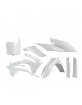 Acerbis Plastik Full Kit Honda weiß / 6-teilig CRF 250 14-17 + CRF450 13-16
