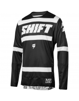Shift Jersey 3lack Label Strike 2018 -Schwarz/Weiß
