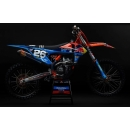 Acerbis Plastik Full Kit KTM SX/SX-F  orange-blau / 7-teilig
