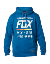 Fox Fleece Hoody District 2 Dusty