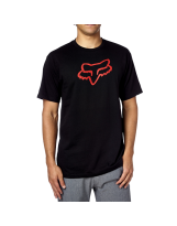 Fox Legacy Foxhead Tee Red