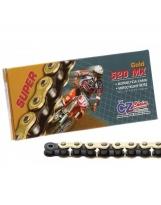 CZ Kette 520 MX GOLD SUPER T520/G118