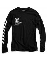 100% Longsleeve Shirt Gideon Black