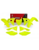 Racetech Plastikkit CRF 450 17- 250 18- Neon Gelb 6tlg.