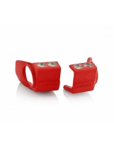 Acerbis Gabelfuß Schutz Honda / Kawasaki Rot