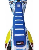 CrossX Sitzbankbezug Honda 2-Farbig m. Streifen CUSTOMIZE