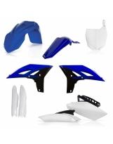Acerbis Plastik Full Kit Yamaha OEM10 blau / 6tlg.