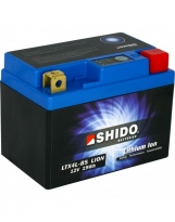 Shido Lithium LTX4L-BS / YTX4L-BS, 12V/3AH (Maße: 114x71x86)
