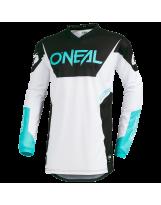O'Neal Element Racewear Weiß/Bl/Schw