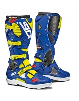 Sidi Crossfire 3 SRS Yellow Fluo-Blue
