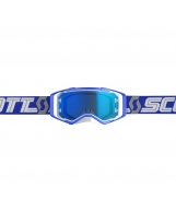 SCOTT Prospect white/blue / electric blue chrome works 2019