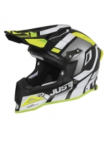 JUST1 Helmet J12 Flame Yellow-Black