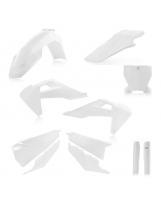 Acerbis Plastik Full Kit Husqvarna 2019- weiss  / 6tlg.
