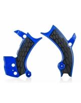 Acerbis Rahmenschutz X-GRIP Yamaha blau-schwarz