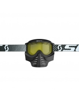 SCOTT 83X Safari Facemask black/yellow