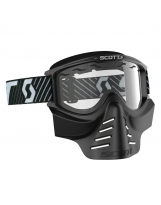 SCOTT 83X Safari Facemask black / clear