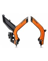 Acerbis Rahmenschutz X-GRIP KTM 2019- schwarz-orange