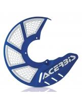 Acerbis Bremsscheiben Schutz X-Brake 2.0 Honda / Yamaha / Suzuki / Kawasaki / KTM / Husqvarna / Beta / Sherco / GasGas blau-weiß