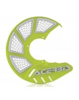 Acerbis Bremsscheiben Schutz X-Brake 2.0 Honda / Yamaha / Suzuki / Kawa / KTM / Husky / Beta / Sherco / GasGas gelb-fluo-weiß