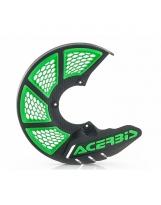 Acerbis Bremsscheiben Schutz X-Brake 2.0 Honda / Yamaha / Suzuki / Kawa / KTM / Husky / Beta / Sherco / GasGas grün-schwarz