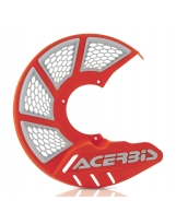 Acerbis Bremsscheiben Schutz X-Brake 2.0 Honda / Yamaha / Suzuki / Kawa / KTM / Husky / Beta / Sherco / GasGas orange16-weiß