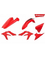 Polisport Plastik Kit Beta x-trainer rot / 4tlg.