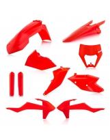 Acerbis Plastik Full Kit KTM Exc orange-fluo / 7tlg.