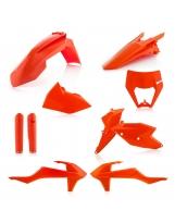 Acerbis Plastik Full Kit KTM Exc orange16 / 7tlg.