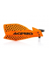 Acerbis Handprotektoren KIT X-Ultimate inkl. Anbaukit orange-schwarz