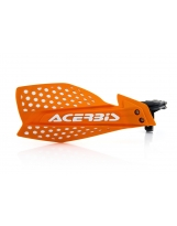 Acerbis Handprotektoren KIT X-Ultimate inkl. Anbaukit orange-weiß