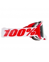100% The Racecraft Plus Bilal  Injected Silber Flash Spiegel Linse