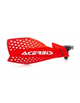 Acerbis Handprotektoren KIT X-Ultimate inkl. Anbaukit rot-weiß