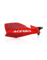 Acerbis Handprotektoren KIT X-Ultimate inkl. Anbaukit  rot-blau