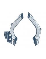 Acerbis Rahmenschutz X-Grip Husqvarna 19- blau-silber