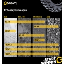 """Gibson MX 1.1 Front Sand,Schlamm, Mischboden """"weich"""" Vorderradreifen"""