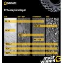 Gibson MX 4.1/4.2 Rear Mischboden, Schlamm Hinterradreifen