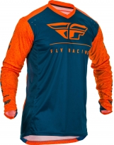 Fly Racing Hemd Lite orange-navy