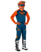 Fly Racing Combo Lite orange-navy