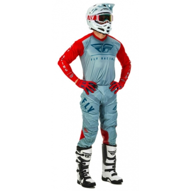 Fly Racing Combo Lite rot-slate-navy