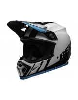 BELL MX-9 Mips Helmet Dash White/Blue