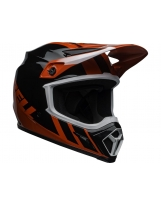 BELL MX-9 Mips Helmet Dash Orange/Black